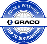 Graco Foam & Polyurea Top 20 Distributor