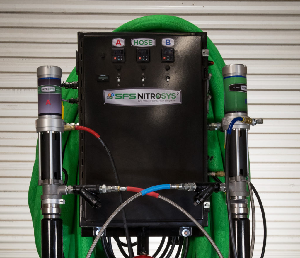 Nitrosys Plus Spray Equipment Spray Foam Systems